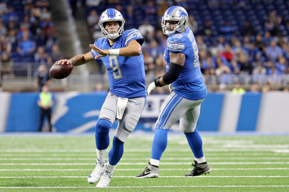 Stock report: Matthew Stafford up, Travis Fulgham down for Lions
