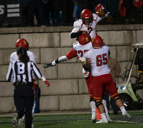 ALLENDALE -  It was a game of big plays, but it was a trick play that enabled Ferris State to beat Grand Valley State on Saturday, 35-31. With the Bulldogs facing fourth down and two, quarterback Jayru Campbell pitched back to motion man Jevon Shaw who, in turn, threw back to Campbell along the left sideline all alone for the 31-yard go-ahead touchdown with 3:11 left.  The play happened after the Lakers failed on their fourth down attempt minutes earlier. They had fourth and 15 from the Bulldogs' 36 and went for it rather than punt, and Bart Williams' sideline pass was incomplete with five minutes remaining.  MORE: Scoring summary See photo gallery from the game After the Bulldogs' touchdown, Williams was intercepted on the next series by Deion Stephenson on the Bulldogs' 29 with 2:02 left.  The Bulldogs ran out the clock from there to hold onto the Anchor-Bone Trophy with their third consecutive win in the series and fourth out of five at Lubbers Stadium.  The win will also enable No. 3- ranked Ferris State (7-0, 5-0 GLIAC) to leap over No. 2-ranked Grand Valley State (6-1, 3-1 GLIAC) in the American Football Coaches Association Poll. Ferris State coach Tony Annese has beaten Grand Valley seven of nine times since 2012. Last year, Ferris State won 28-27 on a touchdown run by Reggie Bell with 15 seconds remaining. It looked bleak earlier in the quarter for Ferris State. On fourth and two with just under nine minutes left, a 34-yard field goal attempt from Jackson Dieterle dropped just short of the goalpost after Kwanii Figeuroa got a piece of it.  The loss overshadowed a career-passing record for Bart William, who threw for 487 yards on 23 of 50 but had three interceptions.  He threw long all night with 11 completions of 25 yards or more. The Bulldogs weren't shy, either, with four completions and two runs of 20 yards or more.