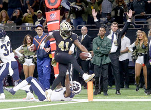 Week 9, 2018: Saints 45, Rams 35 New Orleans blitzed the Rams out of the gate earlier this season, dropping 35 points on Los Angeles in the first half. In the first 30 minutes alone, Drew Brees logged 211 yards and three scores through the air while Alvin Kamara put together a touchdown hat trick. Prior to this game, the Rams hadn't lost all season, and they looked to be on the verge of getting blown out. But Los Angeles had a rally ready, scoring on three consecutive drives to start the second half. When Rams quarterback Jared Goff struck Cooper Kupp for a 41-yard touchdown in the fourth quarter, Los Angeles had scored 18 unanswered points and evened the game up at 35. The Saints found their groove just in time on both sides of the ball. A Wil Lutz field goal and a 72-yard touchdown pass to Michael Thomas put the Saints back ahead by two scores, and the Saints defense allowed just 11 yards on the Rams' last two possessions.