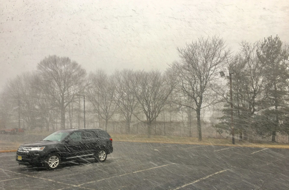 What is a snow squall? Watch as N J  and Pennsylvania get
