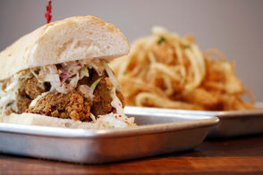 Opened: June 11 The original Mahony's on Magazine Street pioneered the chef-driven po-boy. Now the second location in the French Quarter has a larger menu, an oyster bar and even a sports car displayed in its snazzy dining room. 901 Iberville St., New Orleans, 504.717.2422
