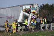 Northbound lanes of I-81 reopened following crash