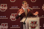UMass football coach Walt Bell believes he can build a winner; 10 things we learned from new Minuteman coach's press conference