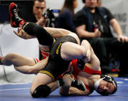 Penn State's Zain Retherford becomes three-time NCAA Wrestling champ (photos)