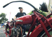 Seen@ Indian Motocycle Day 2018 at the Springfield Museums