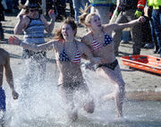 Brrrrr! The most outrageous reactions to a cold lake plunge in N.J.