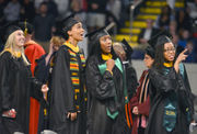 Elms College holds 87th Commencement at MassMutual Center (photos, video)