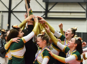The 2017-18 Michigan high school competitive cheer state finals could be remembered as the year of the runner-up. Three of the four state championships taken home last season were won by the team which finished second in its Division in the previous season. What does that mean for teams which got close last year but couldn't quite get over the hump? That your time could be next. Now that the season is officially underway, we take a look back at who stole the show last season and eye some contenders going forward as for who to watch out for this year in March.