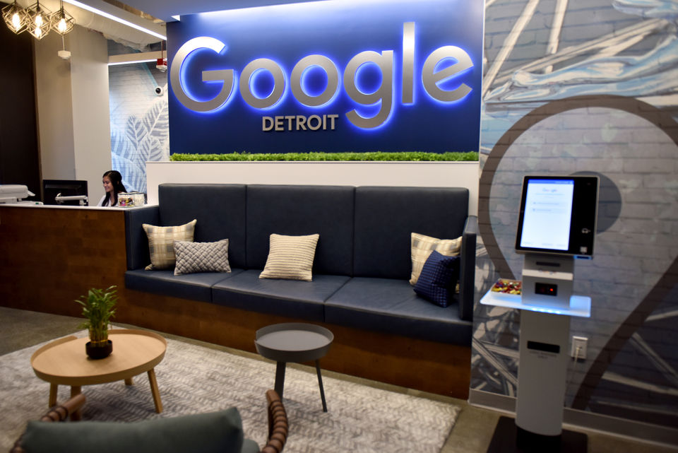 Google officially opens new, modern office space inside LCA in Detroit