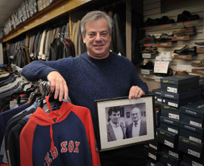 A look inside the Nat Falk Clothing Store in downtown Ware.