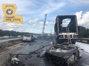 Accident closes Interstate 12 eastbound near Covington