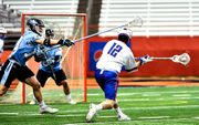Syracuse lacrosse tumbles in national polls after Johns Hopkins loss