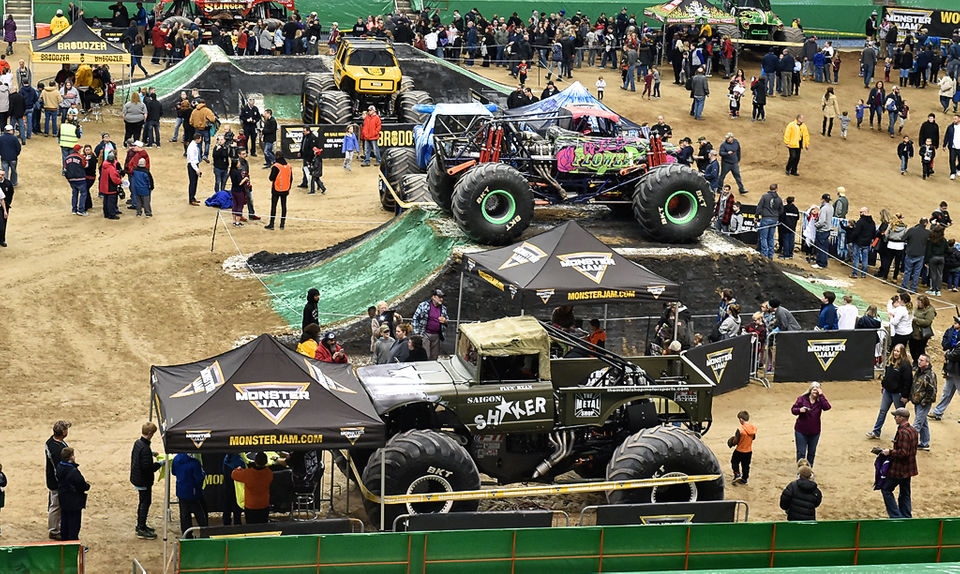 Monster Jam 2019: Meeting the trucks at the Pit Party