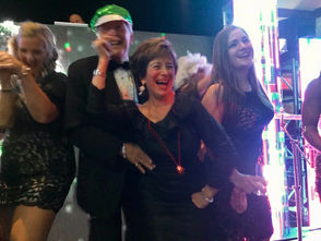 At Staten Island University Hospital's 135th Charity Ball at the Hilton Garden Inn are David Lehr and Fran Hogan. (Staten Island Advance/Carol Ann Benanti)