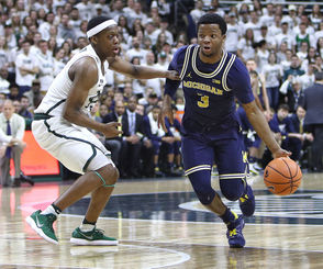 Unlike last year, Michigan and Michigan State will play each other twice in the regular season. The first matchup is not until Feb. 24 in Ann Arbor, with the rematch coming in the regular-season finale, March 9. Who can wait until then for a preview of what figure to be highly entertaining games? With the rival programs tied atop the Big Ten standings, here's an early look at how the Wolverines and Spartans match up.