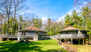 For sale in Upstate NY: Unique round house with views of Berkshire mountains