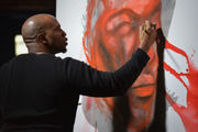 Visual Artist at Westfield State University honors memory of Trayvon Martin with 4-day, 17-hour performance (photos, video)