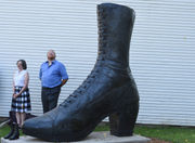 Size 236 shoe sculpted to honor century-old business