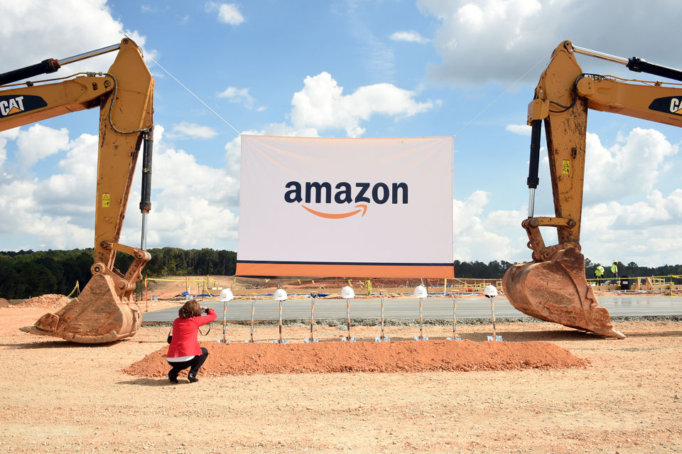 Amazon breaks ground on $325 million Bessemer fulfillment center