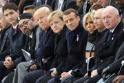 Macron warns against nationalism as Trump, other leaders commemorate end of WWI