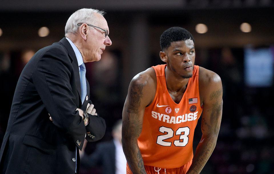 Syracuse Basketball S 2018 19 Acc Schedule Big Games Key Stretches