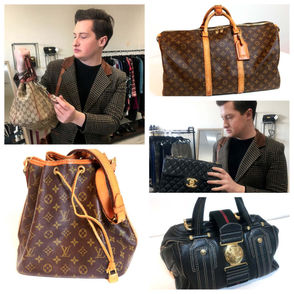 CLEVELAND, Ohio – Hermes, Louis Vuitton, Alexander McQueen and Christian Louboutin are some of Pierce Morgan's favorite designers. Through studying their history, pedigree and legacy, the Kent State University Fashion School student launched Chicologie, a business offering authentication and refurbishing services for luxury handbags.