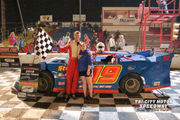 Stunning 1-2-3 finish is a first for Hillikers at Tri-City Motor Speedway