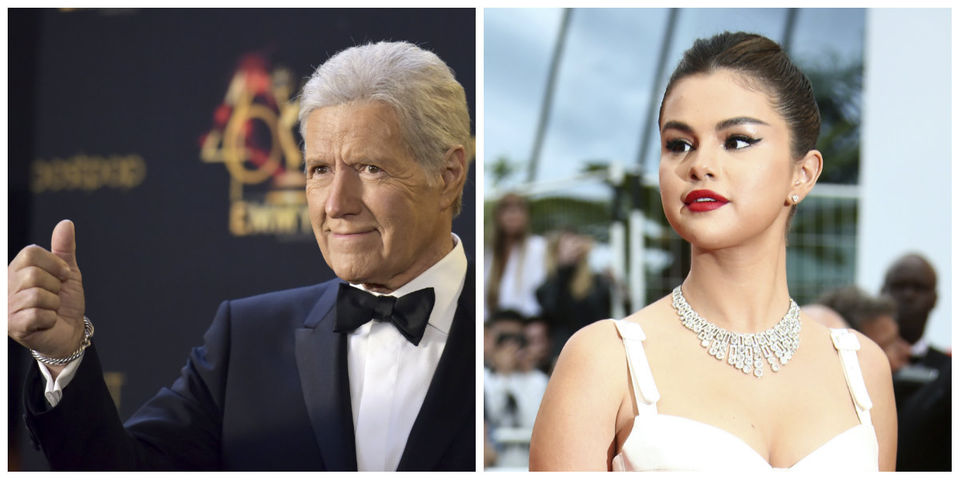 Today's famous birthdays list for July 22, 2019 includes celebrities Alex Trebek, Selena Gomez
