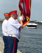 Service members honored at Tottenville Marina