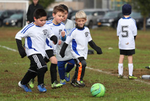 Petrides Panther Cubs '11 vs. Silver Lake Academy in Staten Island Soccer League U-8 action, held at Miller Field, New Dorp. October 20, 2018. (Staten Island Advance/Derek Alvez).