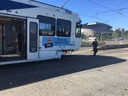 MAX train, pickup crash in downtown Portland causing traffic delays
