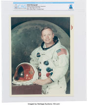 Personal items of Neil Armstrong, first man to walk on moon, up for auction