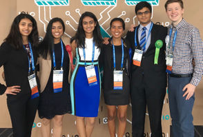 Three of the six Intel science fair winners in this photo are among the many many National Merit semifinalists at Westview High announced today. Those three are first, fourth and fifth from left, namely Himani Sood, Divya Amirthharaj and Adit Gupta. The three other science superstars, from left, are Nandini Naidu, a freshman at Stanford University, Megan Joshi, a senior at South Salem High, and Nathan Tidball, a senior at Wilsonville High. Oregon's new crop of National Merit semifinalists, announced Wednesday, come from a smaller set of high schools than in years past, with more than half of them attending just six of Oregon's 250-plus high schools. Five of those six schools scores saw their number of top scorers increase this year. Perennial test score powerhouse Westview High alone had an astonishing 39 students named semifinalists, nearly twice the 20 it tallied last year.