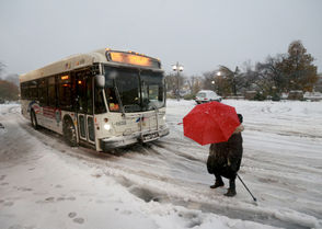 First snowstorm of the season continues into a second day