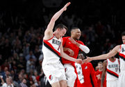PHOTOS: Trail Blazers tame Timberwolves, 123-114