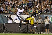 Philadelphia Eagles trail Pittsburgh Steelers, 22-14, at halftime: 5 takeaways, observations