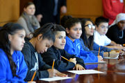Hampden DA Anthony Gulluni hosts Kiley Middle School students for day at courthouse (photos, video)