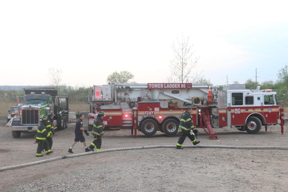 Staten Island Brushfire