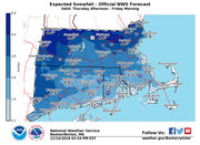 Storm to bring up to 6 inches of snow, wind gusts up to 55 mph to Massachusetts