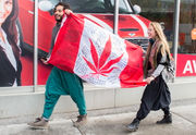 I'm in Canada for the 1st day weed is legal. It's selling like hotcakes | Mulshine