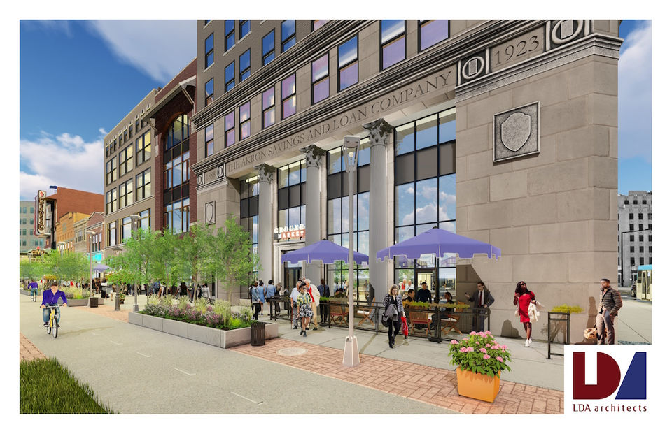 Akron Poised To Issue 2 Million In Bonds Create Public Entryway For Bowery Project Cleveland