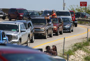 Traffic backed up as U.S. 31 drawbridge in Grand Haven fails to close