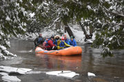 Winter river rafting is a 'magical experience;' here's where to do it in Michigan