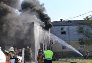 2-alarm fire in Hollygrove scorches duplex, garage