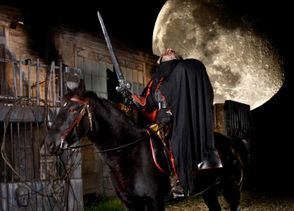 Headless Horseman Hayrides and Haunted Houses in Ulster Park, NY.