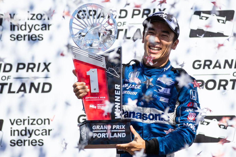 Takuma Sato wins Grand Prix of Portland as IndyCar makes triumphant return to the Rose City