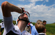 Tour de France riders hit with tear gas during protest by farmers as police intervene