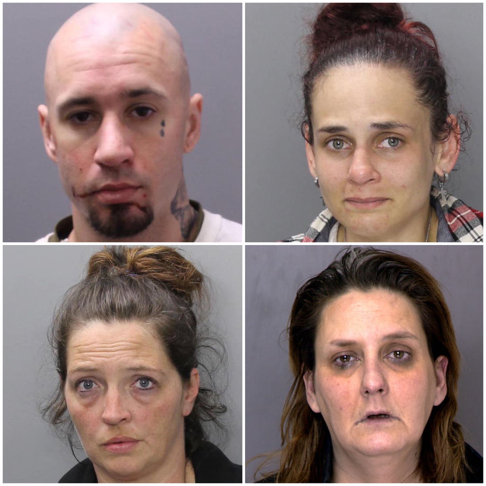 4 collared in warrant sweep, sheriff's office says