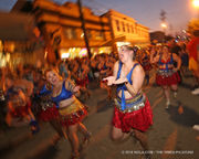 Krewe of O.A.K's 2018 Mid Summer Mardi Gras parade: photo gallery