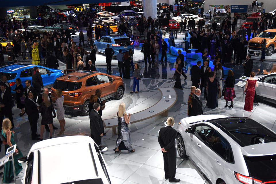 A closer look at the Detroit auto show's press conference schedule